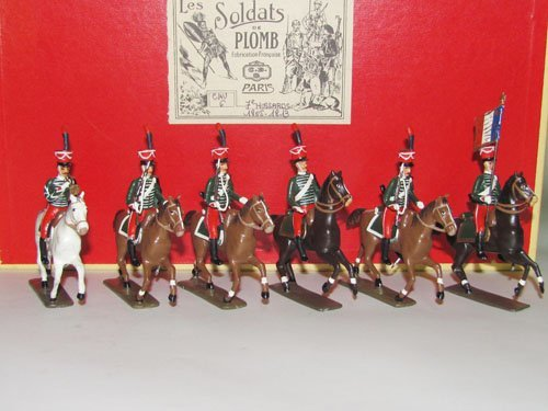 1024: Mignot  Napoleonic Hussars, 7th regiment