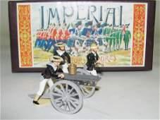 1077 Imperial  Set No 59 Navy Gatling Gun  Crew