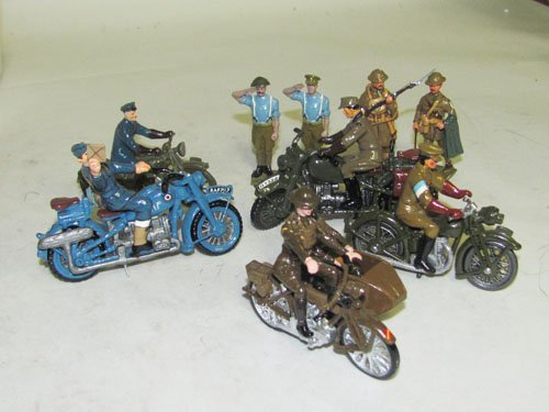 1451: Military Motorcycle Assortment Various Makers