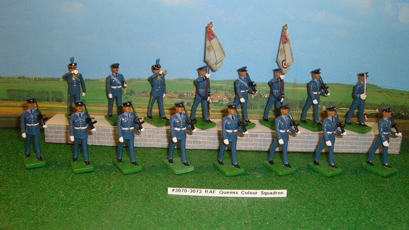 1: Britains Sets # 3070, 3071, 3072, 3073 RAF