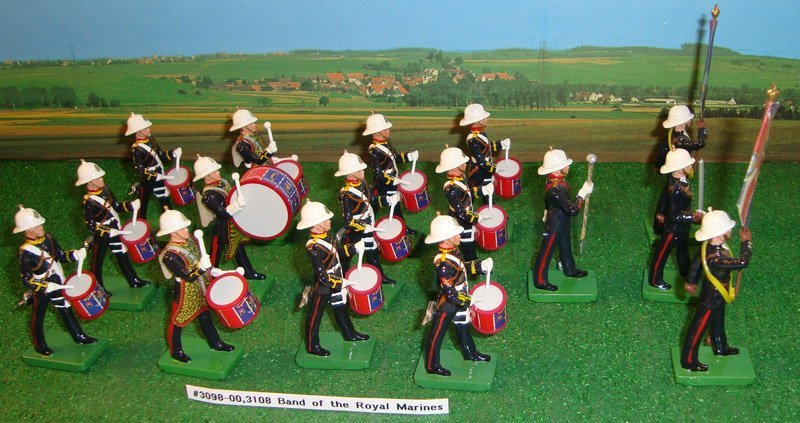 5: Britains Set # 3097 The Royal Marines Drum Major