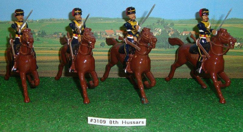 6: Britains Set # 3109 8th Hussars
