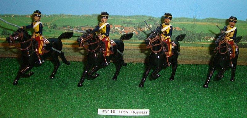 7: Britains Set # 3110 11th Hussars