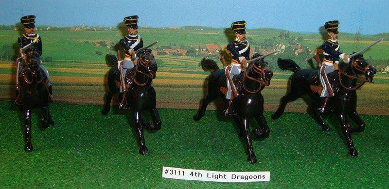 8: Britains Set # 3111 4th Light Dragoons