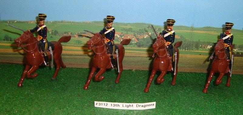 9: Britains Set # 3112 13th Light Dragoons