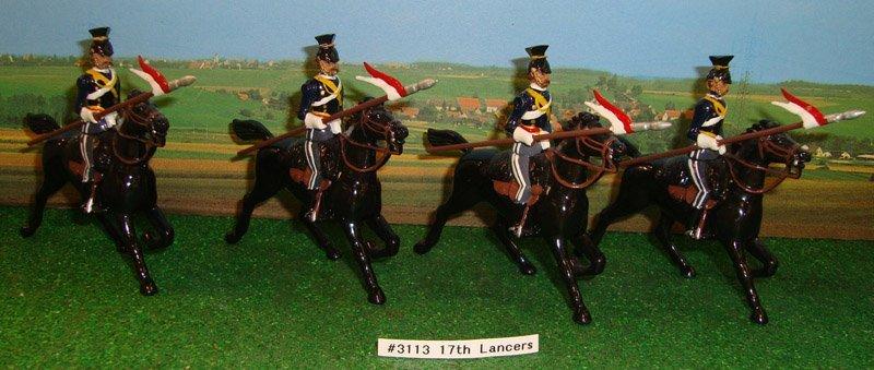 10: Britains Set # 3113 17th Lancers