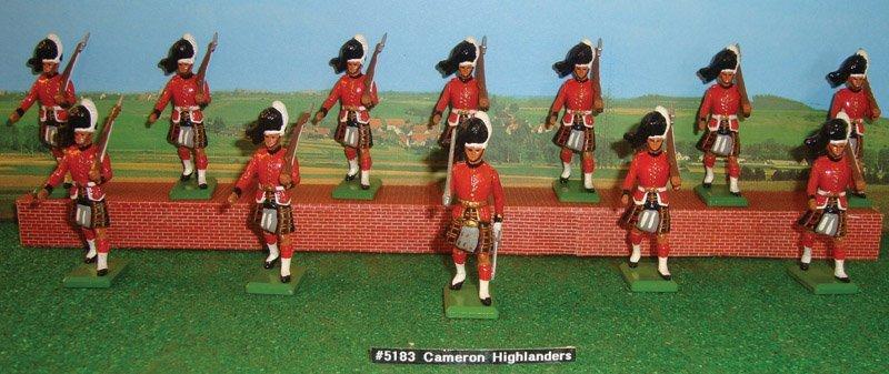 11: Britains Set # 5183 Cameron Highlanders