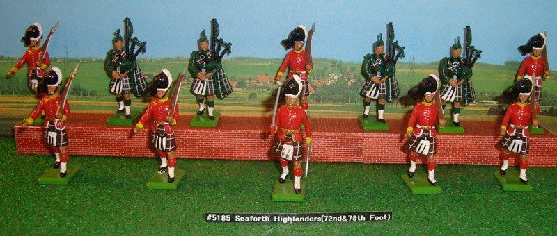 13: Britains Set # 5185 Seaforth Highlanders
