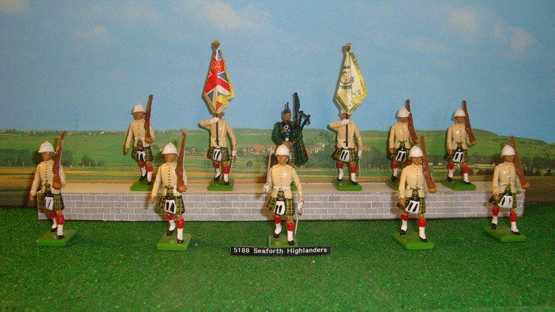 16: Britains Set # 5188 Seaforth Highlanders,