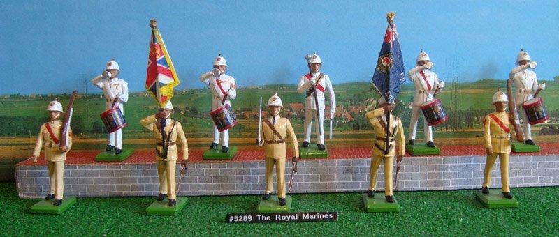 18: Britains Set # 5289 The Royal Marines