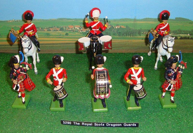 20: Britains Set # 5290 Royal Scots Dragoon Guards
