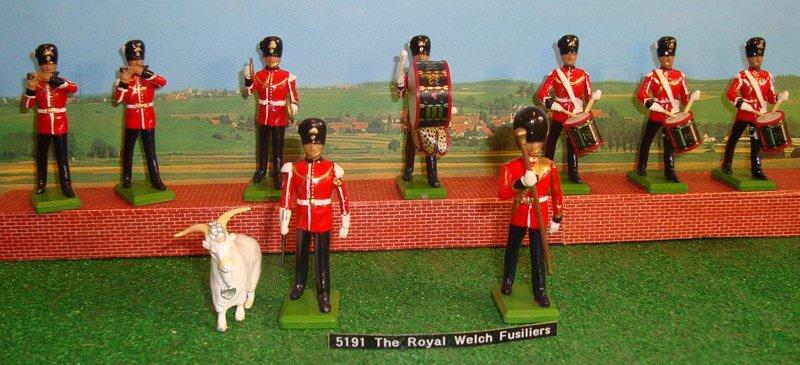 21: Britains Set # 5191 Royal Welsh Fusiliers