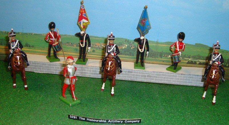 22: Britains Set # 5291 Honourable Artillery Co.