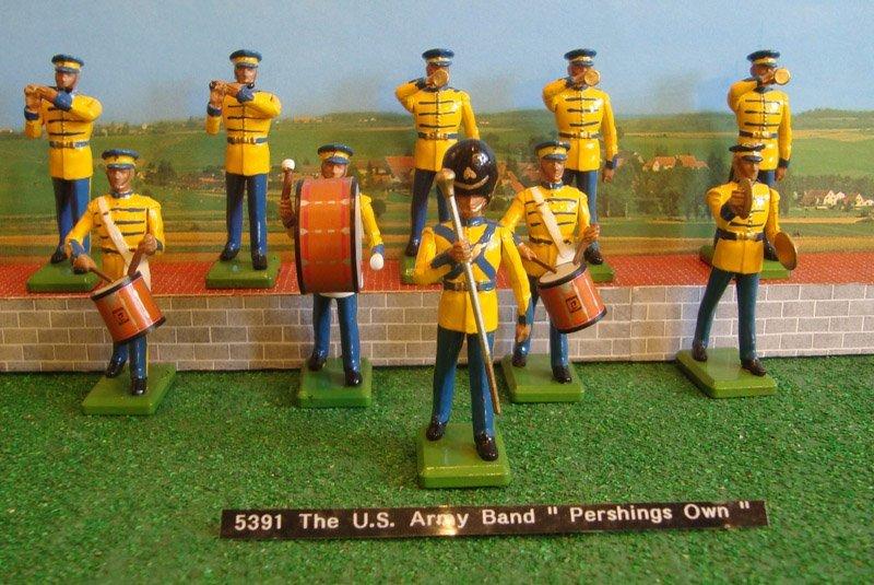 23: Britains Set # 5391 Us Army Band