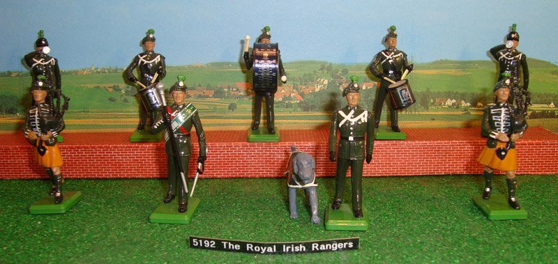 24: Britains Set # 5192 Royal Irish Rangers