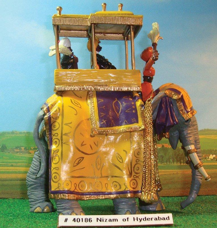 323: Britains Set # 40186 State Elephant Of Nizam,