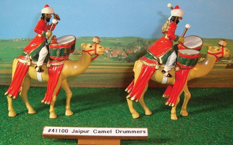 328: Britains Set 2x # 41100 Jaipur Camel Drummers