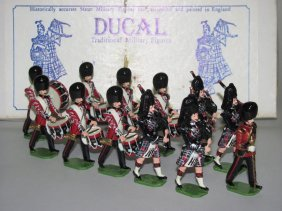 Ducal Soldiers Scots Guards Drums & Pipes