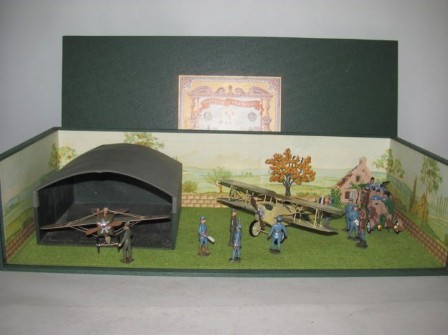 1298: Mignot Aerodrome Armored Car and planes
