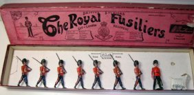 Britains Set # 7 The Royal Fusiliers