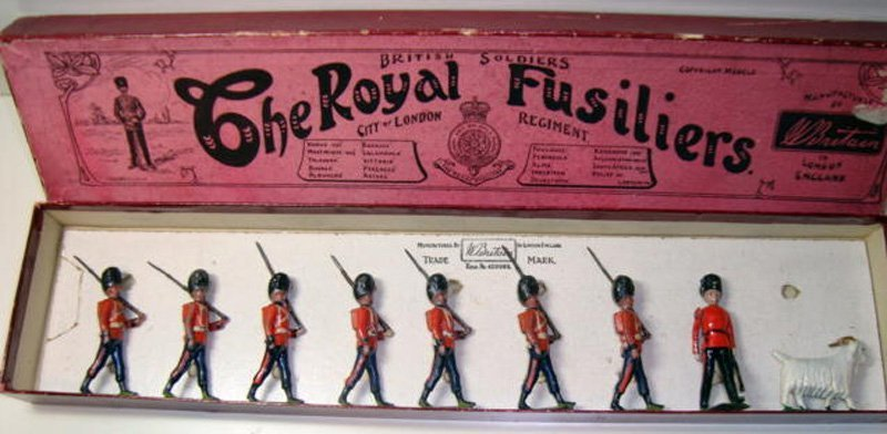 2003: Britains Set # 7 The Royal Fusiliers