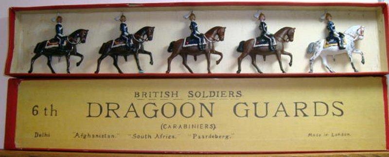 2004: Britains Set # 8x Very RARE 6th Dragoons