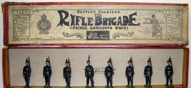 2005: Britains Set # 9 The Rifle Brigade