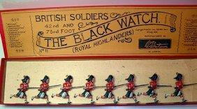 Britians Set # 11 Black Watch Charging