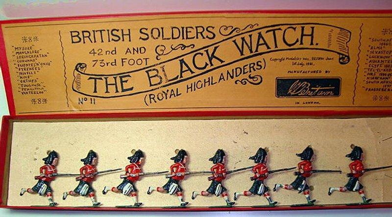 2006: Britians Set # 11 Black Watch Charging