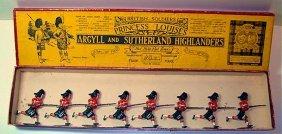 Britains Set # 15 Argyll And Sutherland Highlande