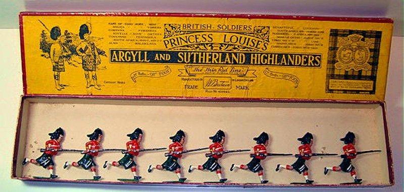 2009: Britains Set # 15 Argyll and Sutherland Highlande