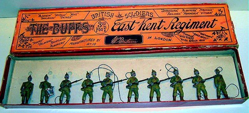 2010: Britains RARE Set #16 The Buffs East Kent Regimen
