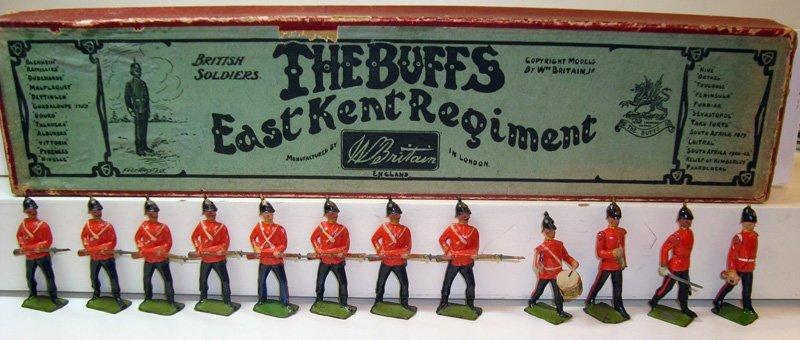 2011: Britains Set # 16 The Buffs- East Kent Regiment