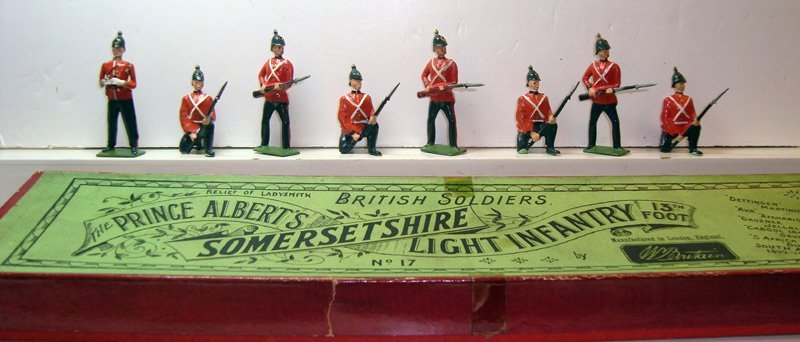 2012: Britains Set # 17 The Somerset Regiment