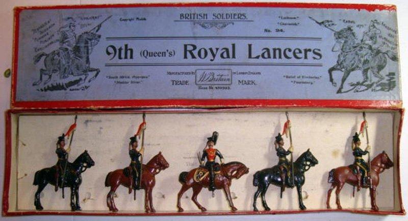 2014: Britains Set # 24 9th Queens Royal Lancers