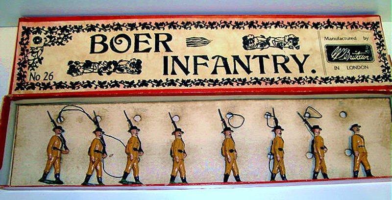 2016: Britains Set # 26 RARE Boer Infantry