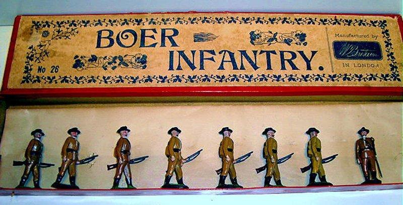 2017: Britains Set # 26 RARE Boer Infantry