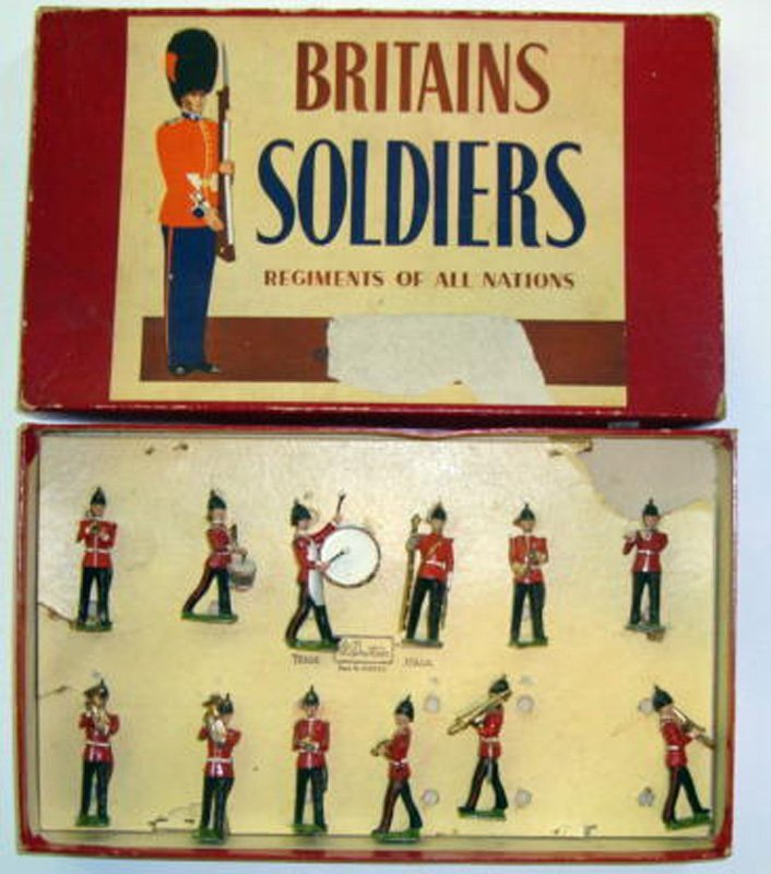 2018: Britains Set # 27 Band of The Line