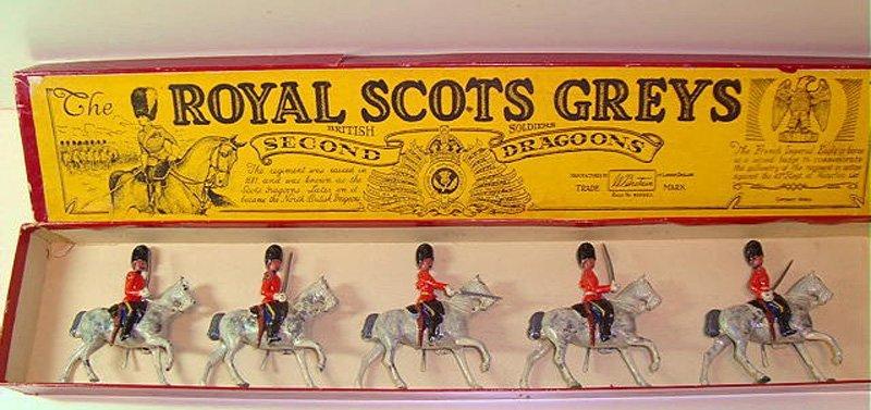 2019: Britains Set # 32 Royal Scots Greys