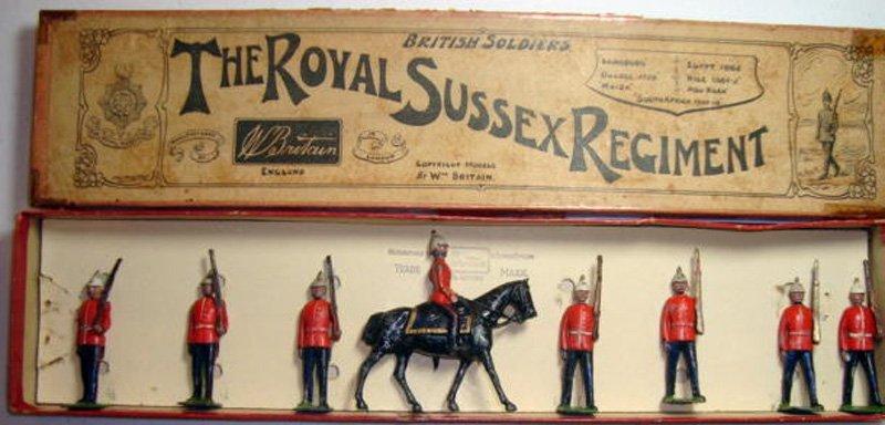 2022: Britains Set # 36 Royal Sussex Regiment