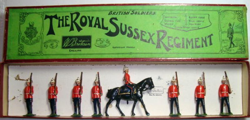 2023: Britains Set # 36 Royal Sussex Regiment