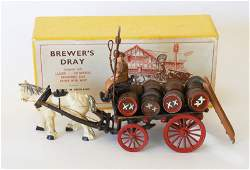 2339 FG Taylor and Sons Brewers Dray Post War with O