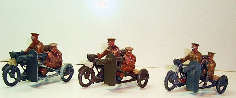 2510: Britains Set # 199 Motor Machine Gun Corps