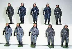 2556 Britains From Set  1895 RARE Luftwaffe Pilots