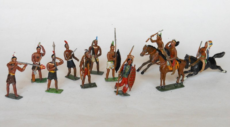 3011: Heyde Indians Mounted and Foot