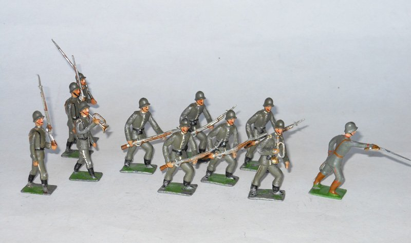 3018: Heyde German Advancing and Marching