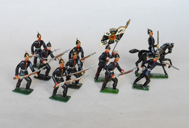 3023: Heyde Prussians Advancing