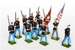 3153 Britains Set  228 US Marines