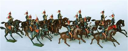3454 Britains From Set  12 Eleventh Hussars