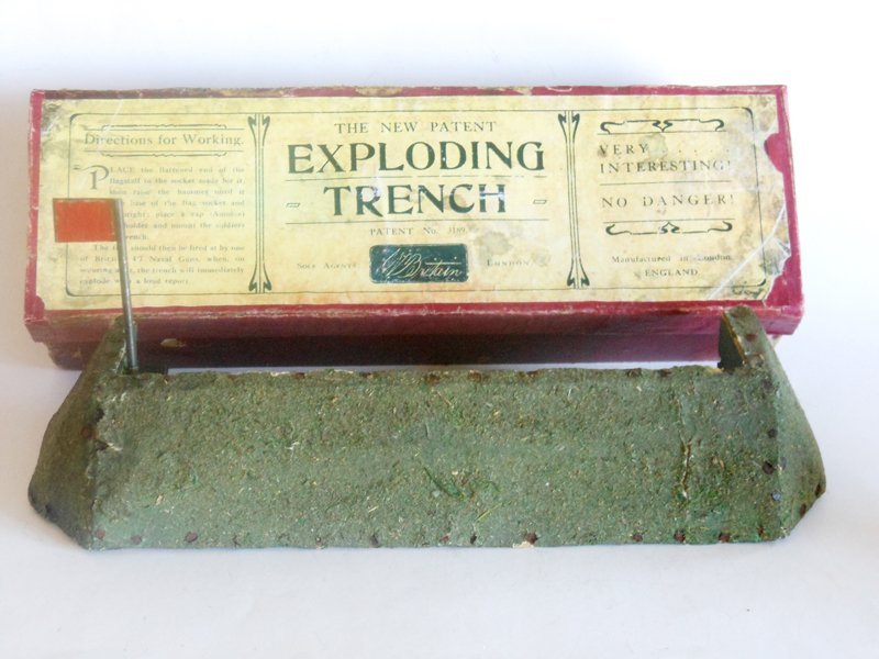 Britains EXCEPTIONALLY RARE Exploding Trench